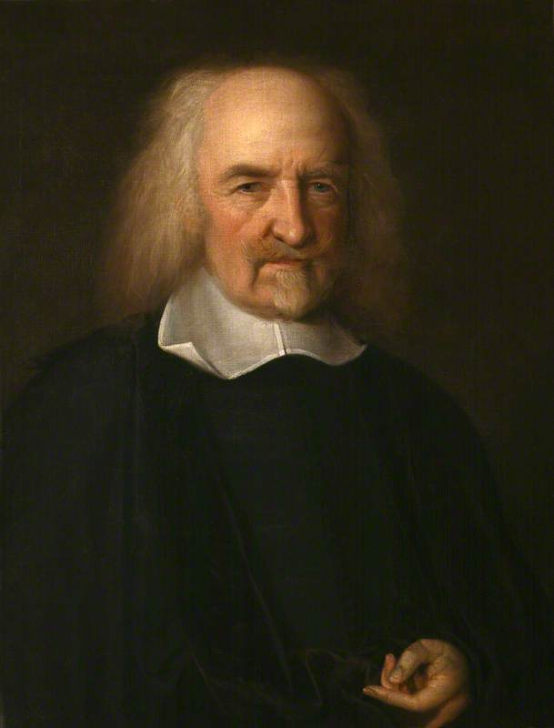 Wright, John Michael, 1617-1694; Thomas Hobbes