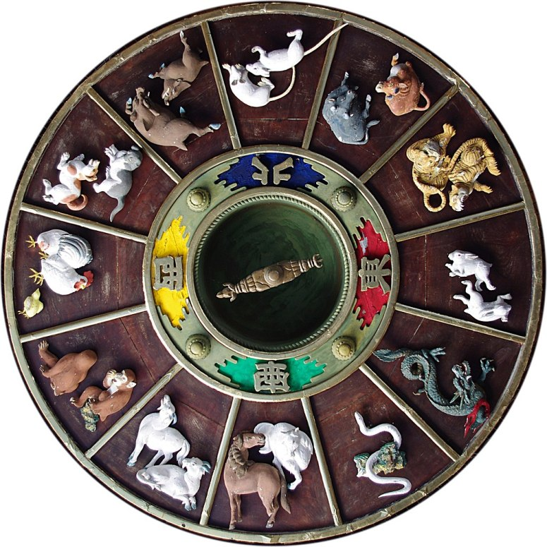 Chinese_Zodiac_carvings_on_ceiling_of_Kushida_Shrine,_Fukuoka