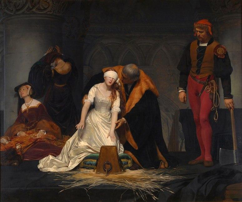 Jane Ejecución_de_Lady_Jane_Grey_(National_Gallery_de_Londres,_1834)