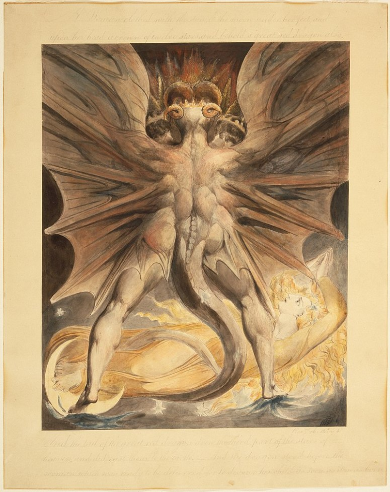 Blake 1 The_Great_Red_Dragon_and_the_Woman_Clothed_with_the_Sun