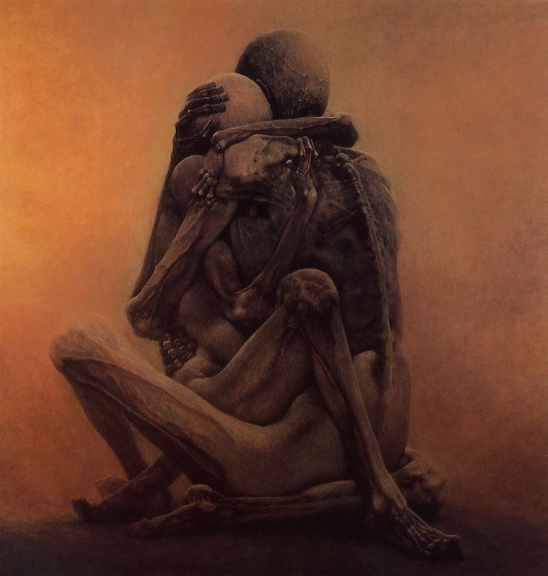 Untitled_painting_by_Zdzislaw_Beksinski_1984