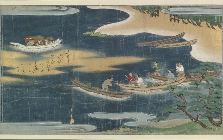 Urashima_Taro_handscroll_from_Bodleian_Library_1