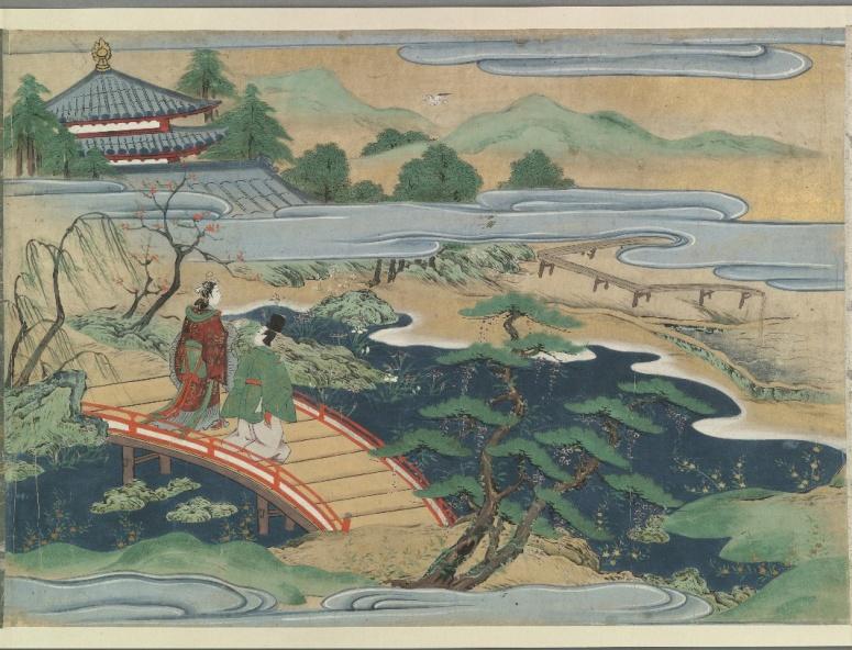 Urashima_Taro_handscroll_from_Bodleian_Library_4